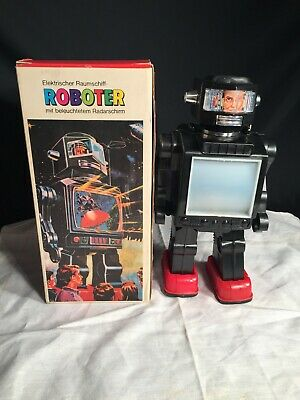 Space Toys HK Raumschiff Roboter in OVP