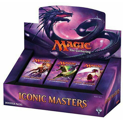Magic the Gathering Iconic Masters Factory Sealed Booster Box MTG New!