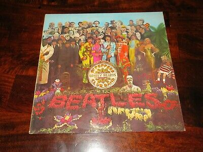 The Beatles...sgt Peppers ..1St  Y/B 1967 Uk Stereo Issue Complete