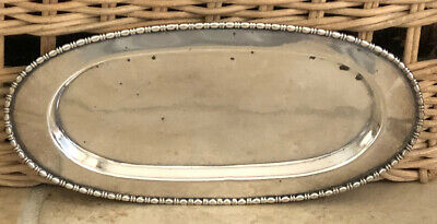 Birks Sterling Silver Vintage Pin Tray 42 Grams Nail Buffer Antique