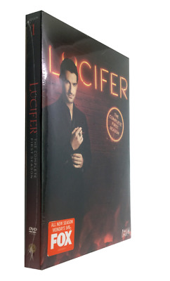 Lucifer: Complete 1st First and 2nd Second Seasons New Sealed DVD Sets