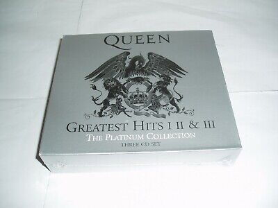 Queens Greatest Hits 1 , Ii , & Iii Platinum Collection New & Sealed 3 Cds