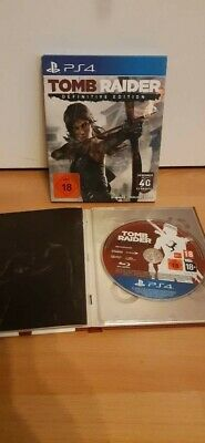 Tomb Raider Definitive Edition - Pappschuber & Booklet / PS4 PlayStation 4 -gut
