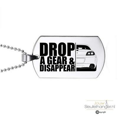 Ketting RVS - Drop A Gear And Disappear -  Mazda RX8 R3