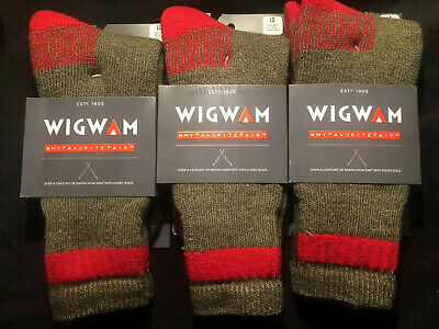3 Pair Wigwam Sub Zero Socks   Large
