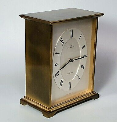 A Vintage Hamilton Electronic carriage clock with Floating Mechanism Heavy