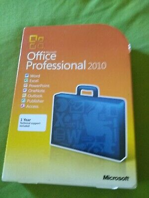Microsoft Office 2010 Professional (Retail) (2 Computer/s) - Full Version for...