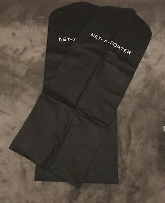 Net-A-Porter 2  Garment Protector Bags XLONG Dress Bag- EXCELLENT NEW