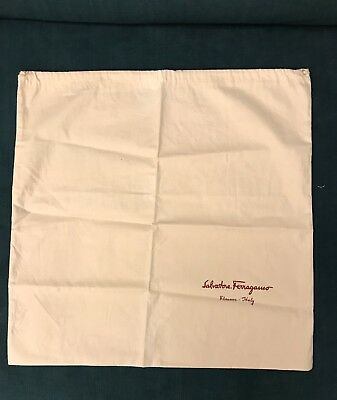 FERRAGAMO Trainers Dust Bag - VGC