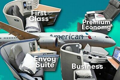 American Airlines (AA) Business First Class SWU Upgrade System-wide Upgrade