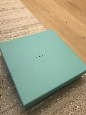 TIFFANY & Co  Gift Box with Pouch / Tissue / Ribbon - EXCELLENT