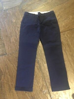 Girls Blue Age 11-12 Years Zara Trousers VGC