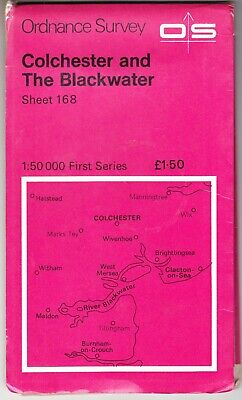 Ordnance Survey Map: Colchester & The Blackwater