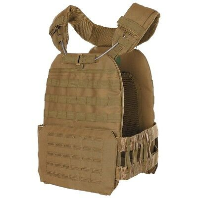 Mfh Vest Tactical Military Excursions Camping Laser Springs Coyote