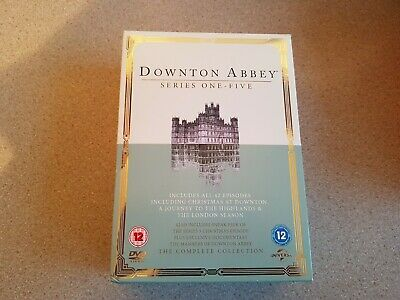 Downton Abbey Complete Collection Series 1-5 + Specials (19 Dvd Set) Genuine Uk