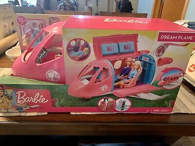 Barbie Dream Plane Playset 15 Plus Pieces