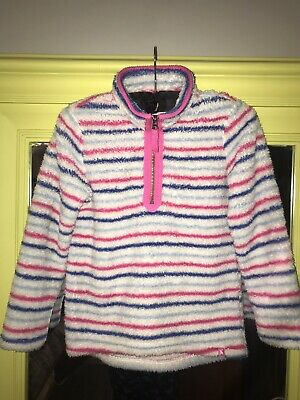 JOULES Girls Merridie Soft Fleece Jumper Age 9-10 Excellent condition  Free Post