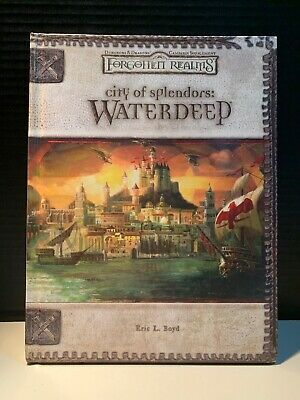 City of Splendors: Waterdeep for Dungeons and Dragons Forgotten Realms OOP