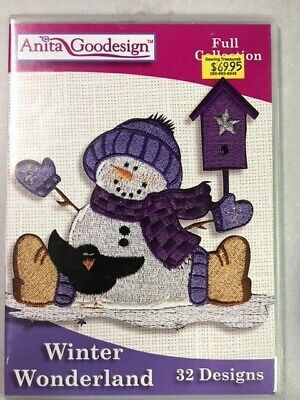 Winter Wonderland Anitagoodesigns Machine Embroidery Full Collection
