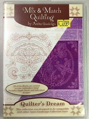 Quilter's Dream Anitagoodesigns Machine Embroidery Mix and Match Quilting