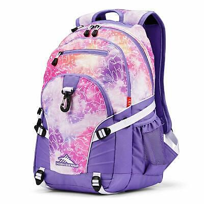 High Sierra Loop Lightweight Backpack for School Office Travel Unicorn Clouds