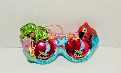 Christmas Ornament Blown Glass Decoration Gift Coworker Teacher BUY 2 GET 1 FREE