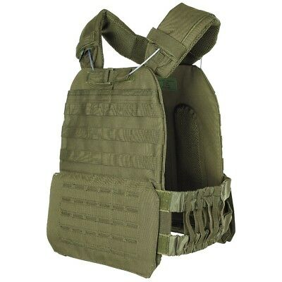 Mfh Vest Tactical Military Excursions Camping Laser Springs Green