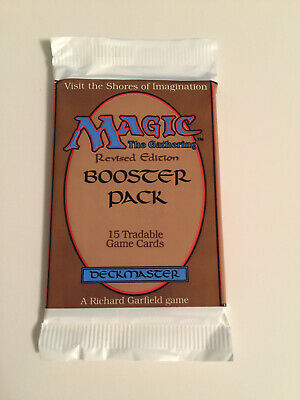 Magic: The Gathering MTG Factory Sealed Revised 3rd Edition Booster Pack SEALED