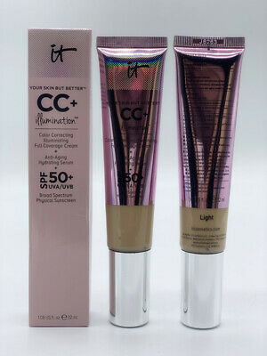 It Cosmetics CC+ Cream Light Illumination SPF50+ Full Coverage Foundation