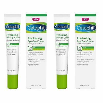 Hydrating Eye Gel-Cream with Hyaluronic Acid - Designed to Deeply Hydrate, Brigh