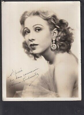 Theatre Ballet & Ballroom Dancer Anna Ludmila Autographed Photo