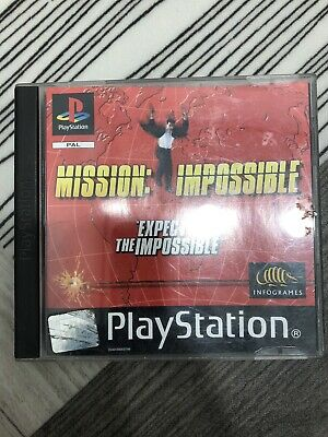 Mission Impossible (Sony PlayStation 1) PS1 Game with Manual
