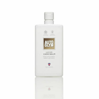 Autoglym Leather Care Balm 500Ml Feeds & Protects Leather Upholstery - Freepost!