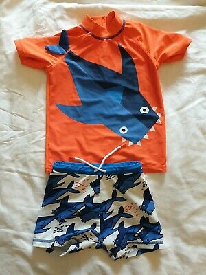 Next Boys Shark Swim Set Age 3-4