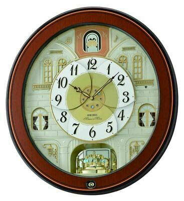 Seiko Musical Melodies in Motion Marionette Clock  QXM368B Our Price £296.95