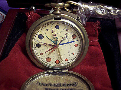 Harry Potter Dumbledore's Pocketwatch FOSSIL pocket watch NEW, Working