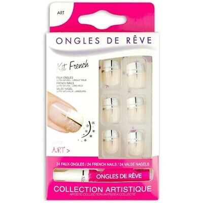 Faux Ongles Avec Colle - Art N 62 - Miss Miss