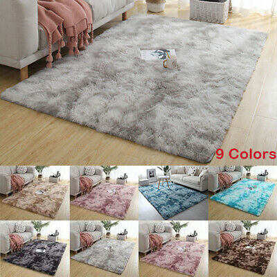 Thick Soft Cosy Shaggy Rug Fluffy Living Room Area Carpet Home Bedroom Floor Mat