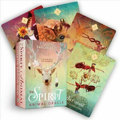 The Spirit Animal Oracle A 68-Card Deck and Guidebook 9781401952792 | Brand New
