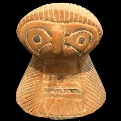 EGYPTIAN OWL STATUE, LATE PERIOD 664 - 332 BC (1) Large Over 12 Cm
