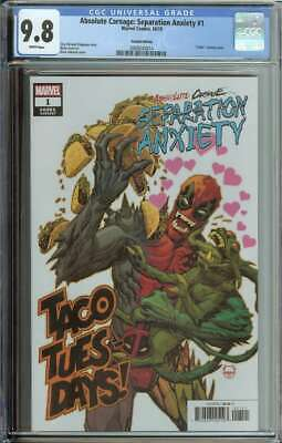 Absolute Carnage Separation Anxiety #1 CGC 9.8 Codex Variant Cover Deadpool