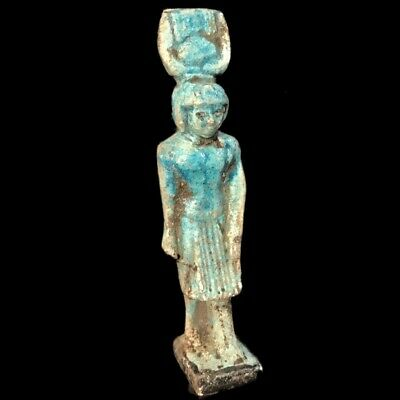 Egyptian Cat Statue, Late Period 664 - 332 Bc (5)