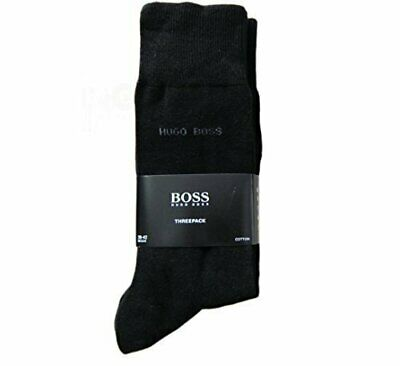 NEW MENS HUGO BOSS COTTON SOCKS 3 pairs SIZE 6-11