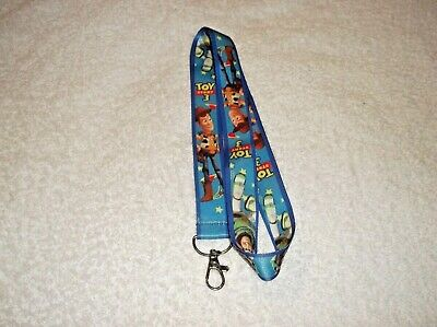 TOY STORY Character LANYARD Woody Buzz Blue X