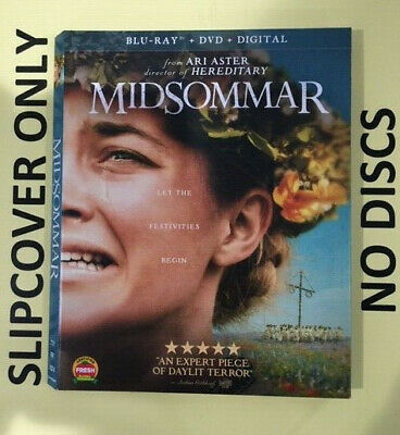 Midsommar (2019) - Blu-ray Slipcover ONLY - NO DISCS