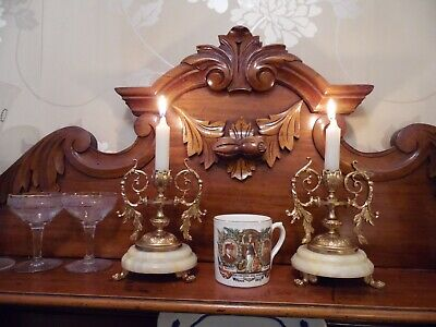 Antique French Clock Garniture Cadelarbra