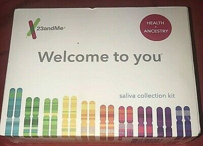 NEW! 23andMe DNA Test, Saliva Collection Kit, Health & Ancestry Service, SEALED!