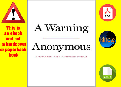 A Warning by Anonymous (Digital book, 19/11/2019)