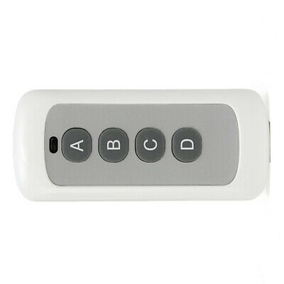 433MHz 4 Button 4 Channel Code Remote Control Switch RF Transmitter Wireless Key