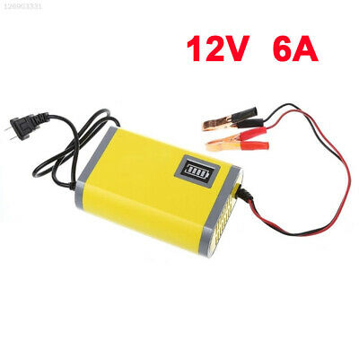 D04A Battery Testers Motorcycle Rechargeable Battery Portable Power 12V 6A